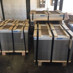 storage stack pans made in wisconsin, stacking storage pans in wisconsin, stacking storage perforated pans