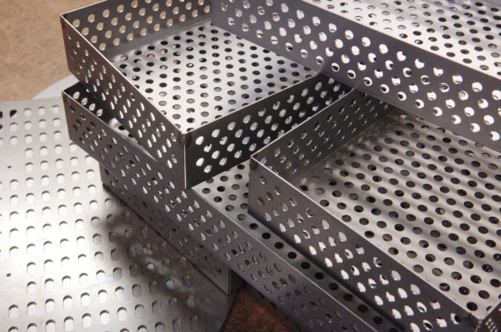 perforated metal components, Standard & Custom Perforating Supplier in Wisconsin, branko perforating