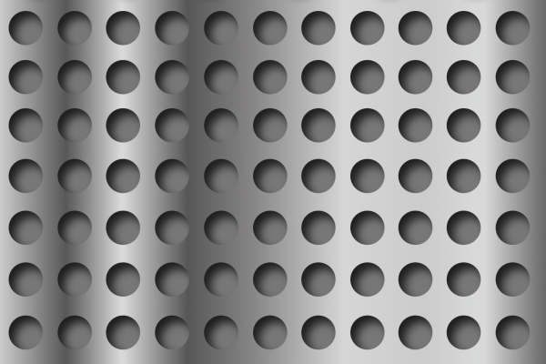 round and square perforated metal, metal perforations round and square, perforations for metal round and square